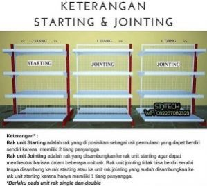 Pengertian Rak Starting Join