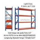 Light Duty Rack 200x60x200