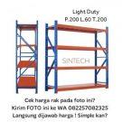 Light Duty Rack 200x60x200