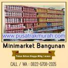 Rak Minimarket Bahan Bangunan